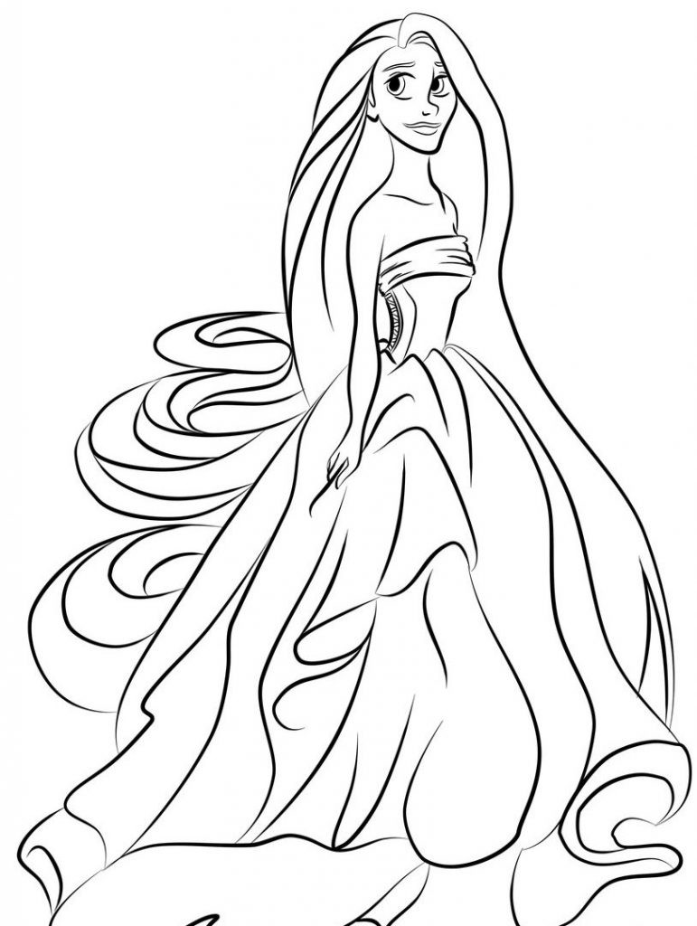 Best ideas about Coloring Pages For Kids. . Save or Pin Princess Coloring Pages Best Coloring Pages For Kids Now.
