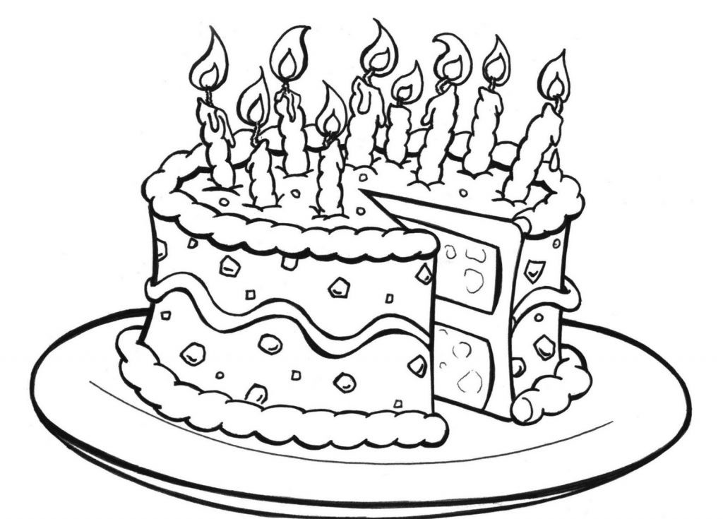 Best ideas about Coloring Pages For Kids Birthday . Save or Pin Free Printable Birthday Cake Coloring Pages For Kids Now.
