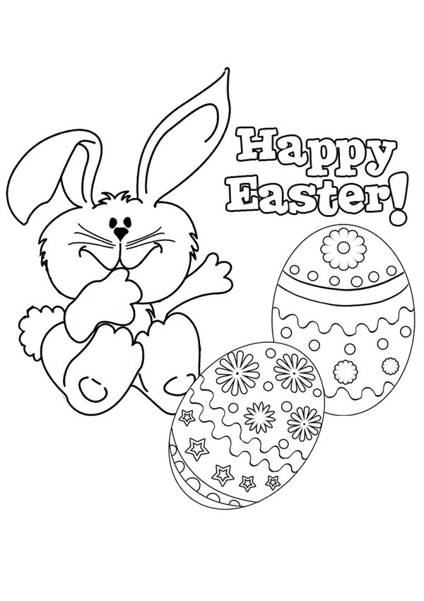Best ideas about Coloring Pages For Kids For Easter . Save or Pin Happy Easter Coloring Pages Best Coloring Pages For Kids Now.
