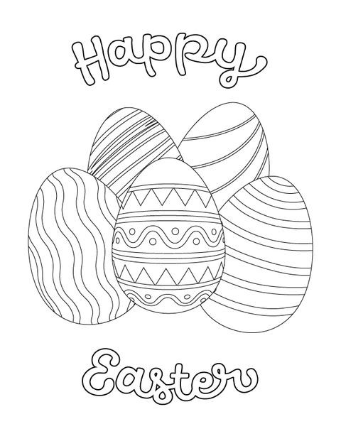 Best ideas about Coloring Pages For Kids For Easter . Save or Pin 10 Easter Coloring Pages for Kids Easter Crafts for Children Now.