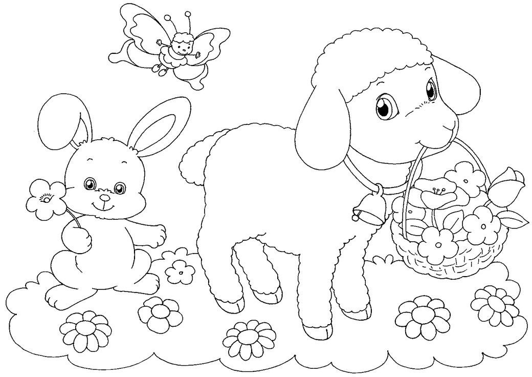Best ideas about Coloring Pages For Kids For Easter . Save or Pin Free Easter Colouring Pages The Organised Housewife Now.