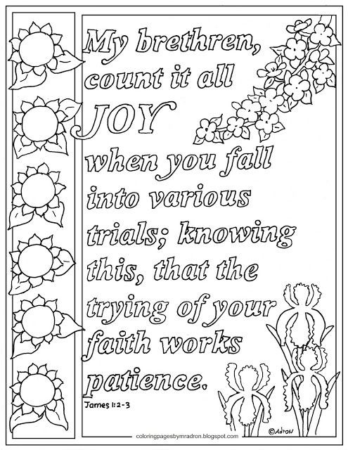 Best ideas about Coloring Pages For Kids For The Book Of James From The Bible . Save or Pin Pin by Adron Dozat on Coloring Pages for Kid Now.