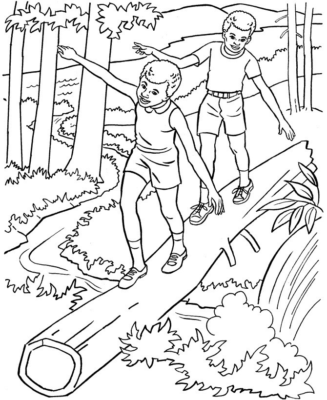 Best ideas about Coloring Pages For Kids Nature . Save or Pin Free Printable Nature Coloring Pages For Kids Best Now.