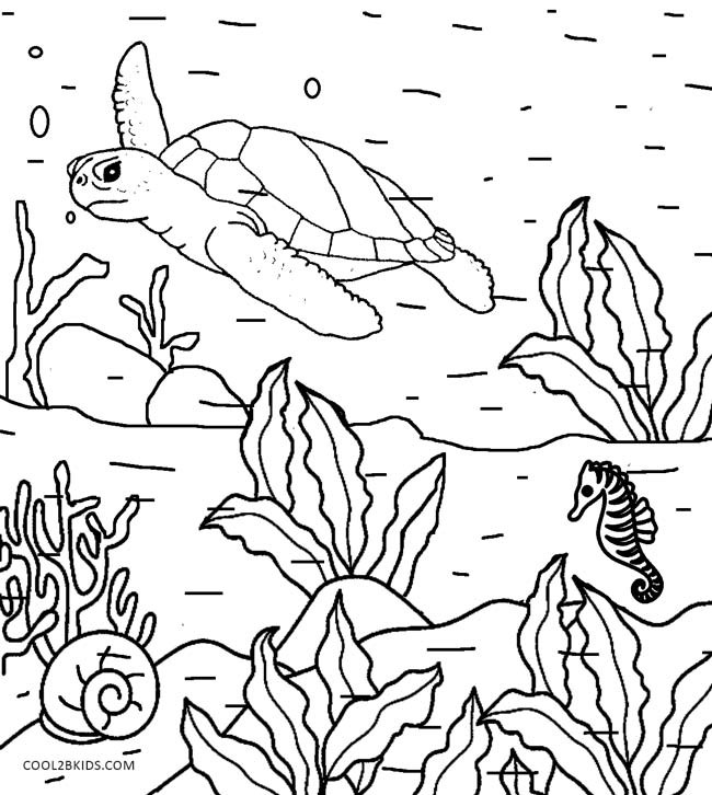 Best ideas about Coloring Pages For Kids Nature . Save or Pin Printable Nature Coloring Pages For Kids Now.