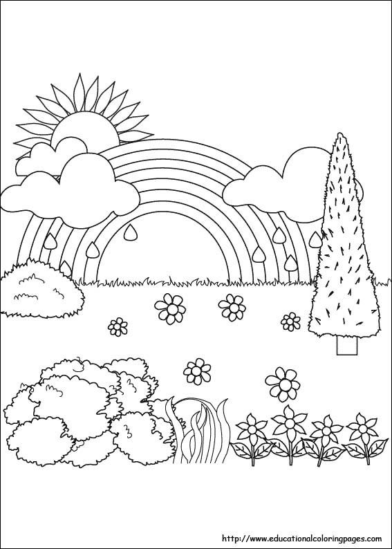 Best ideas about Coloring Pages For Kids Nature . Save or Pin Nature Coloring Pages Educational Fun Kids Coloring Now.