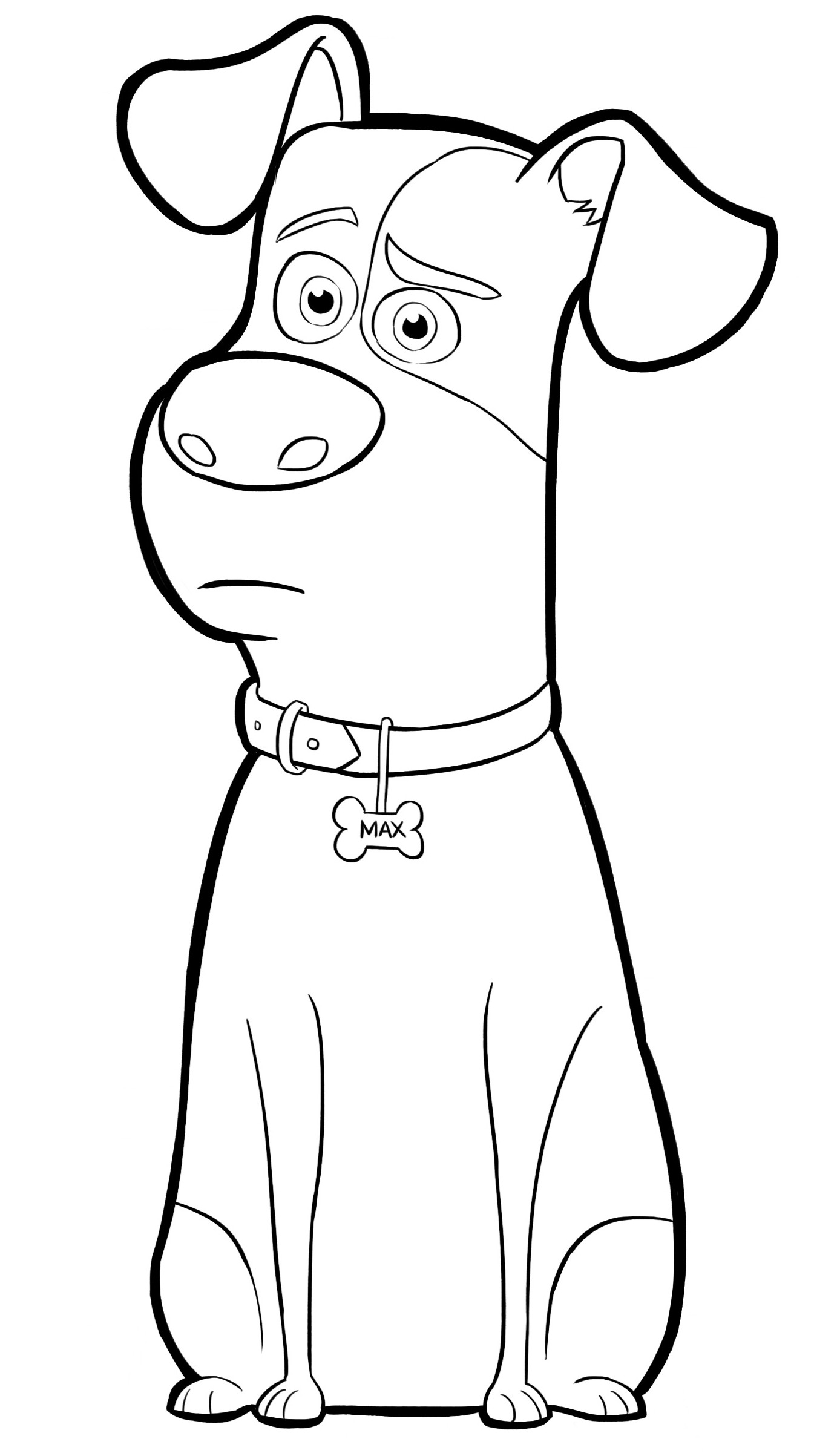 Best ideas about Coloring Pages For Kids. . Save or Pin Pets Coloring Pages Best Coloring Pages For Kids Now.