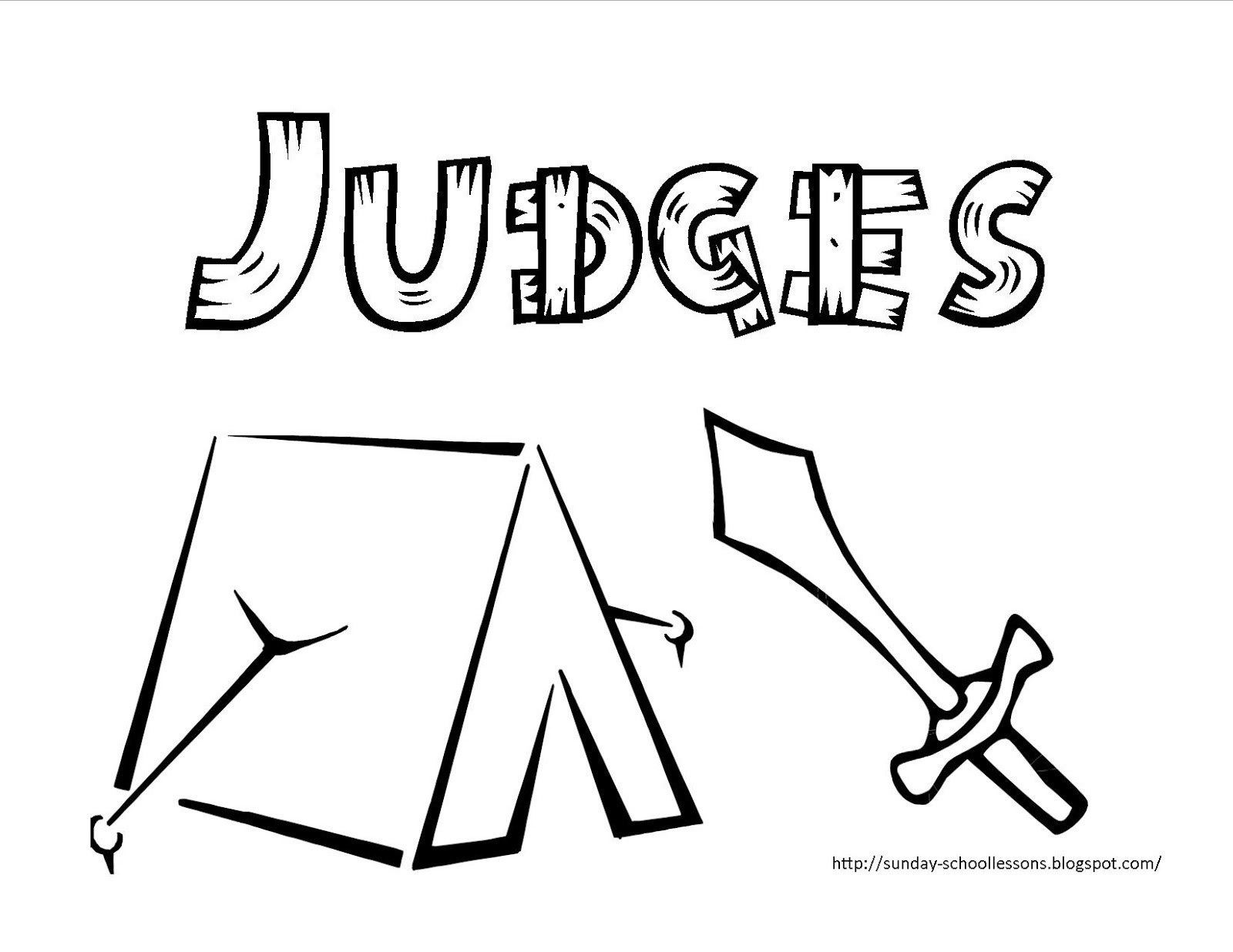 Best ideas about Coloring Pages For Kids Of Book Of Judges . Save or Pin Sunday School Lessons of Plenty Books of the Bible Now.