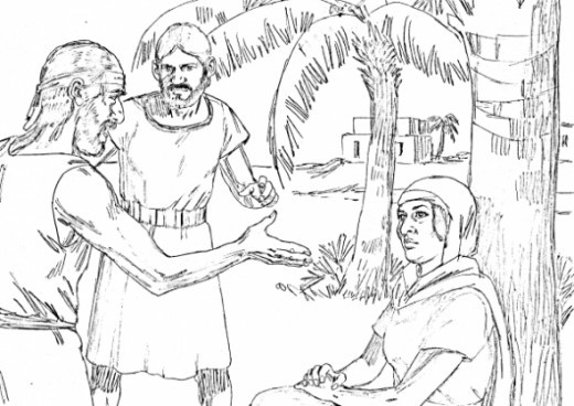 Best ideas about Coloring Pages For Kids Of Book Of Judges . Save or Pin Joshua Judges Ruth Bible Study for Kids Now.