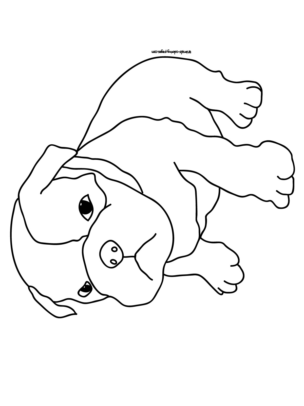 Best ideas about Coloring Pages For Kids Printable Dogs . Save or Pin Dog Coloring Pages 2018 Dr Odd Now.