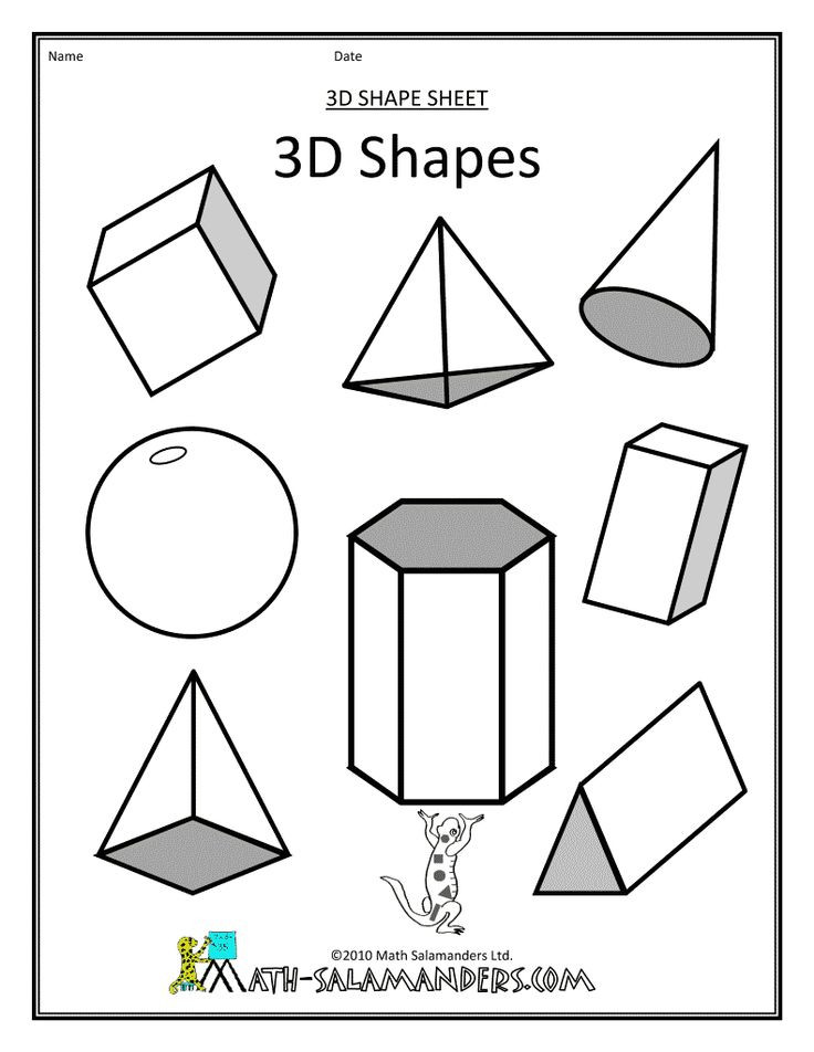 Best ideas about Coloring Pages For Kids Shapes . Save or Pin 71 best images about Kids shapes printables&activities on Now.