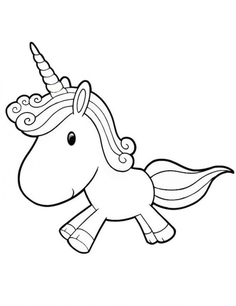 Best ideas about Coloring Pages For Kids To Print Unicorn . Save or Pin Printable Baby Unicorn Coloring Pages Kids Colouring Pages Now.