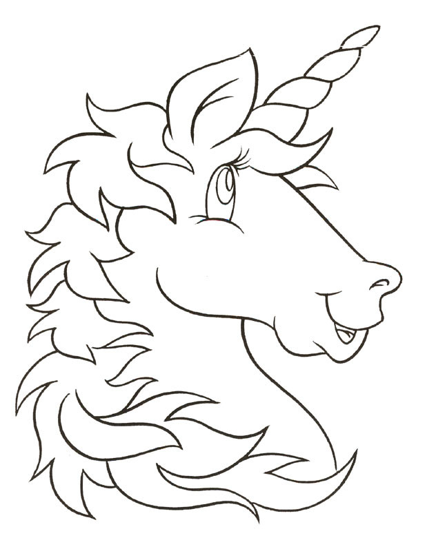 Best ideas about Coloring Pages For Kids To Print Unicorn . Save or Pin Unicorn Coloring Pages For Kids AZ Coloring Pages Now.