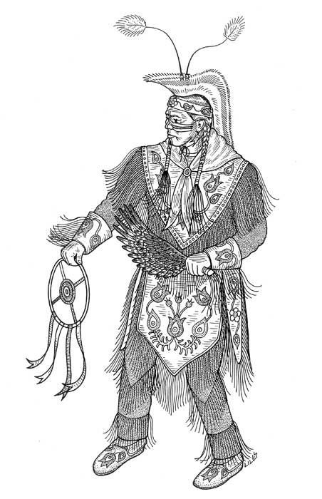 Best ideas about Coloring Pages For Teens Jingel Dress Dancer . Save or Pin grass dancer GRASS DANCE regalia ideas Now.