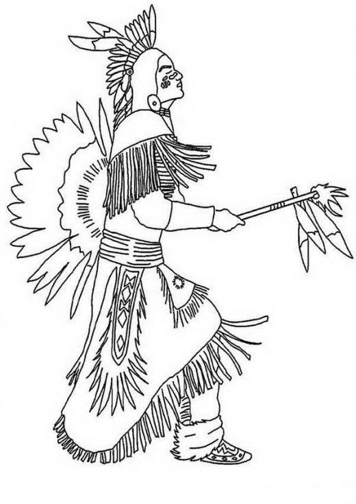 Best ideas about Coloring Pages For Teens Jingel Dress Dancer . Save or Pin Native American Indian Coloring Books and Free Coloring Now.