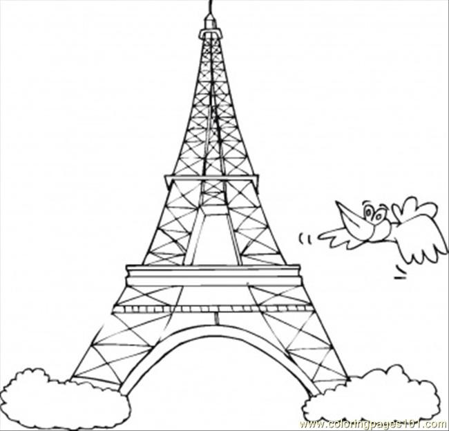 Best ideas about Coloring Pages For Teens Paris . Save or Pin Symbol France Coloring Page Free France Coloring Now.