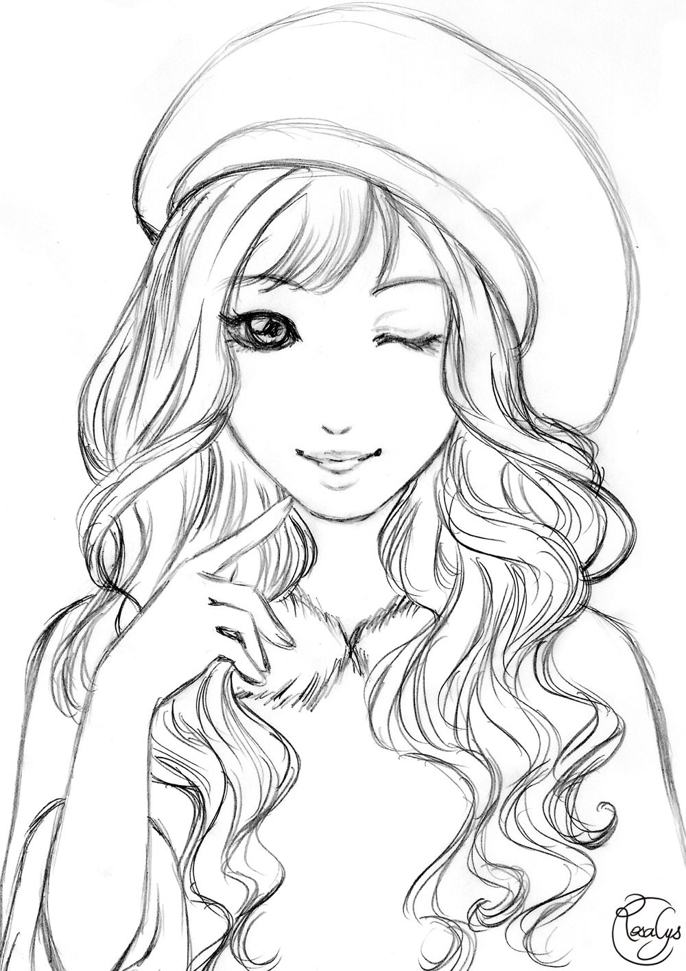 Best ideas about Coloring Pages For Teens Paris . Save or Pin Linearts – Rosalys Artist Now.