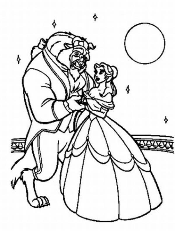 Best ideas about Coloring Sheets For Girls Beauty And The Beast . Save or Pin 33 best images about Beauty and the Beast on Pinterest Now.