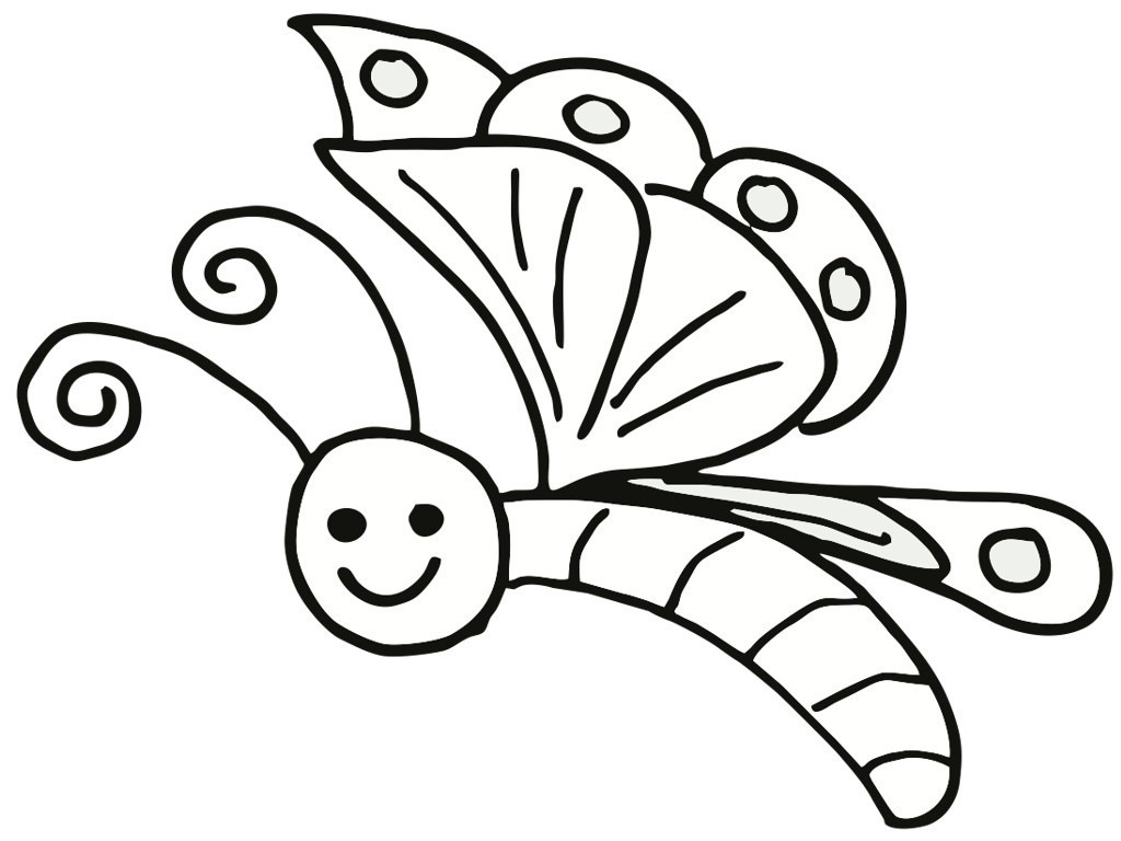 Best ideas about Coloring Sheets For Girls Butterfly . Save or Pin Free Printable Butterfly Coloring Pages For Kids Now.