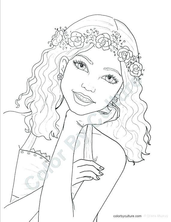 Best ideas about Coloring Sheets For Girls Teenager . Save or Pin Cool Coloring Pages For Teenage Girls at GetColorings Now.