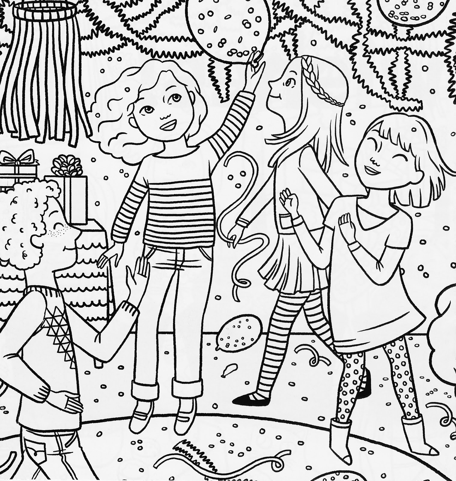 Best ideas about Coloring Sheets For Girls The Birthday . Save or Pin Bonggamom Finds American Girl Magazine Special Birthday Now.