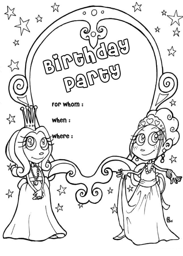 Best ideas about Coloring Sheets For Girls The Birthday . Save or Pin Free Printable Happy Birthday Coloring Pages For Kids Now.