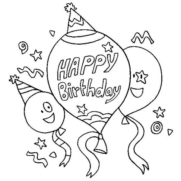 Best ideas about Coloring Sheets For Girls The Birthday Winipoo . Save or Pin Happy Birthday Coloring Pages Free Now.