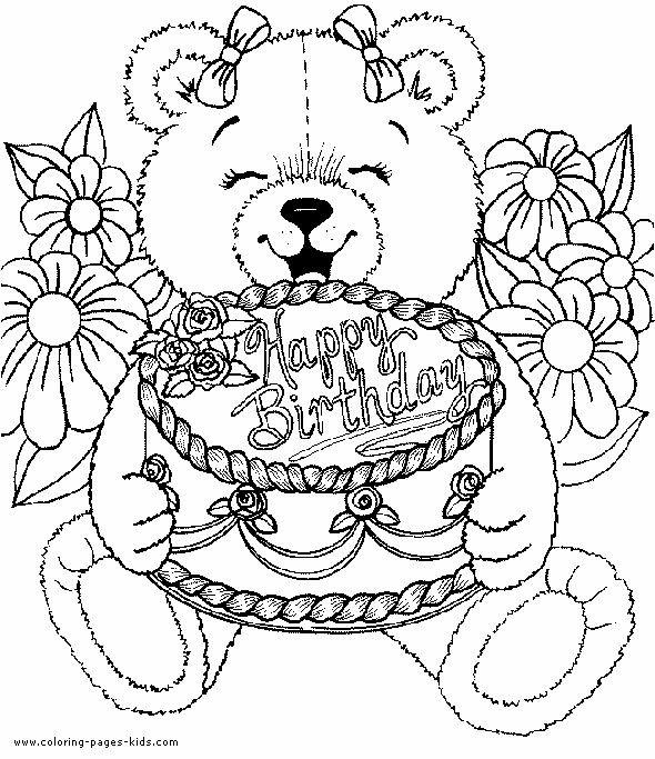Best ideas about Coloring Sheets For Girls The Birthday Winipoo . Save or Pin Free Coloring Pages for Adults Now.