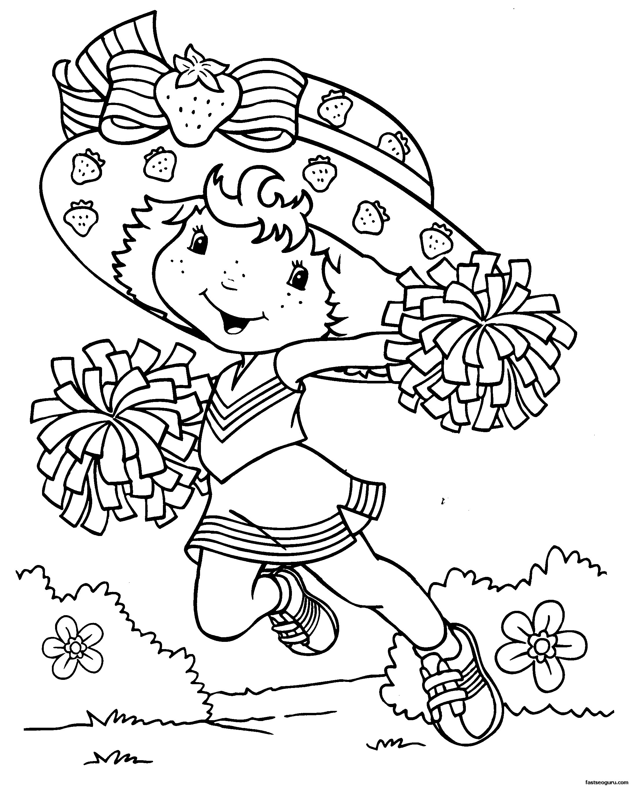 Best ideas about Coloring Sheets For Girls. To Print . Save or Pin Coloring Pages for Girls Dr Odd Now.