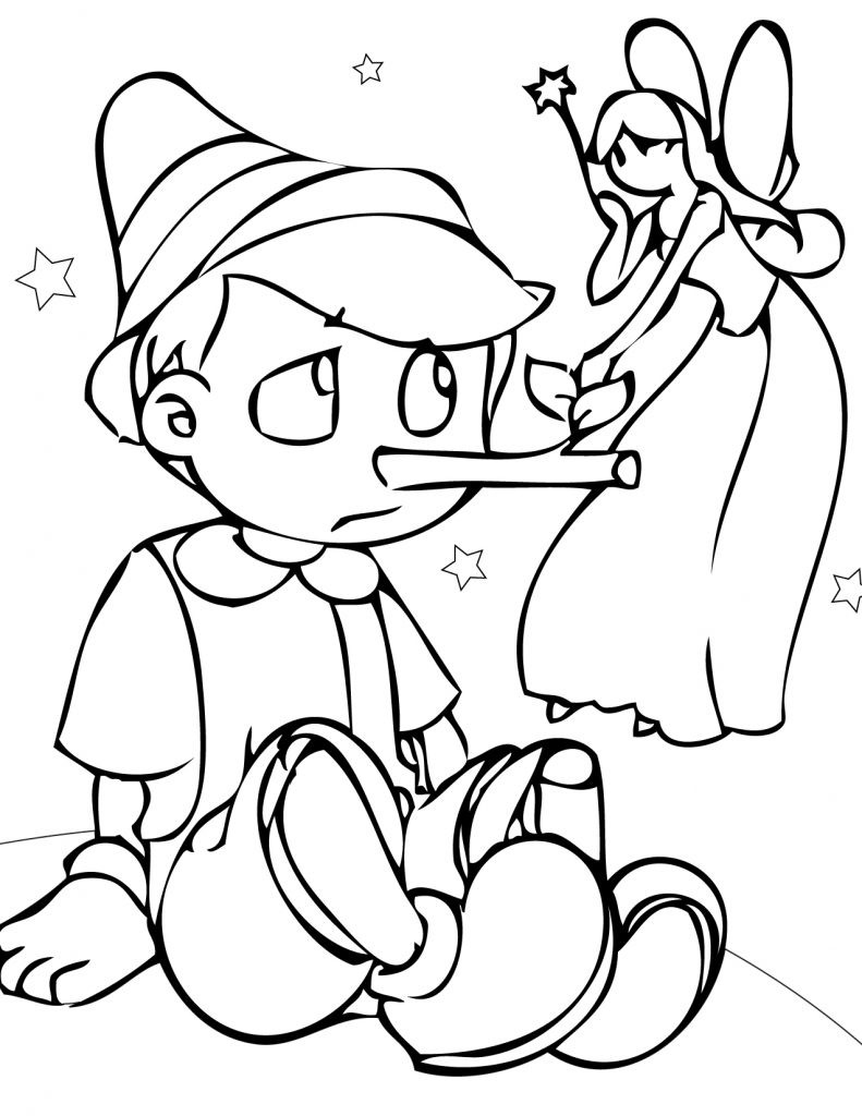 Best ideas about Coloring Sheets For Kids Free . Save or Pin Free Printable Pinocchio Coloring Pages For Kids Now.