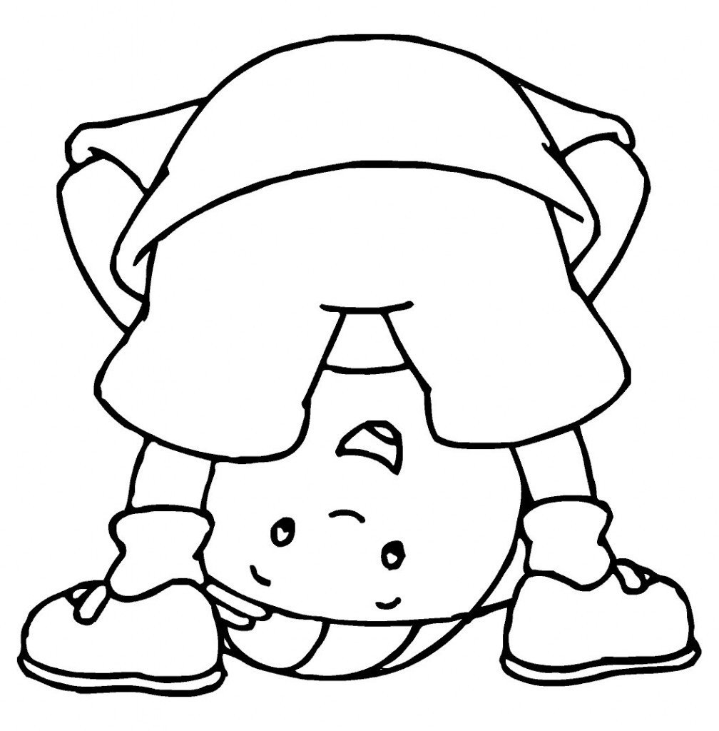 Best ideas about Coloring Sheets For Kids Free . Save or Pin Free Printable Caillou Coloring Pages For Kids Now.