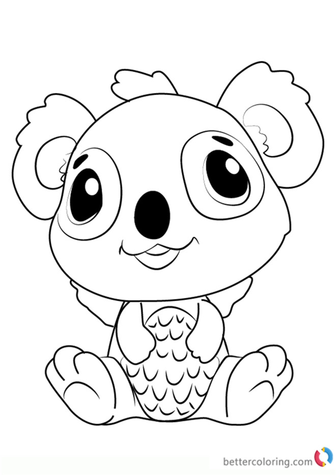 Best ideas about Coloring Sheets For Kids Lisa Fr A Nk . Save or Pin Koalabee from Hatchimals Coloring Pages Free Printable Now.