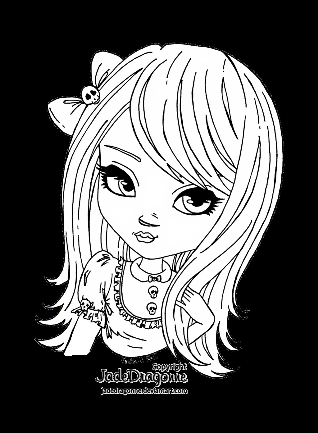 Best ideas about Coloring Sheets For Kids Lisa Fr A Nk . Save or Pin Skulls by JadeDragonneviantart on deviantART Now.