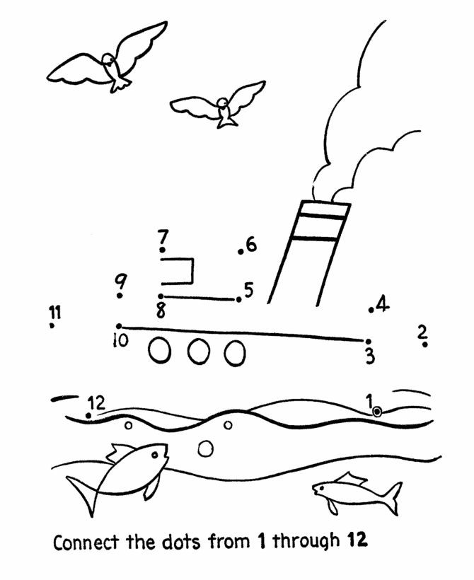 Best ideas about Coloring Sheets For Kidsconnect The Dots For Kids . Save or Pin Dot to Dot Activity Page Tug Boat Now.