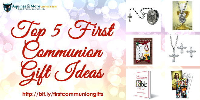 Best ideas about Communion Gift Ideas . Save or Pin 5 Top First munion t ideas Now.