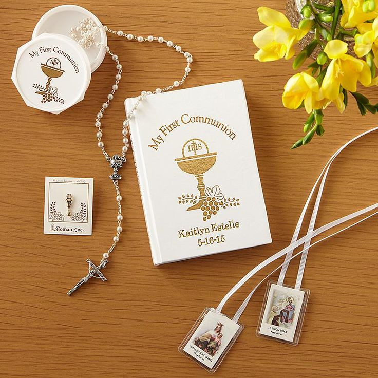 Best ideas about Communion Gift Ideas . Save or Pin 17 Best images about Baptism Christening First munion Now.