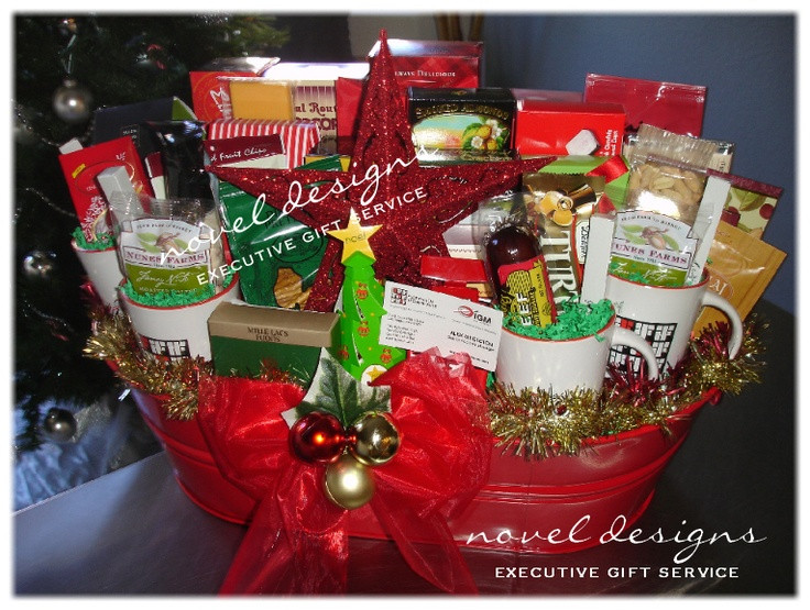 Best ideas about Company Holiday Gift Ideas . Save or Pin 25 unique Corporate t baskets ideas on Pinterest Now.