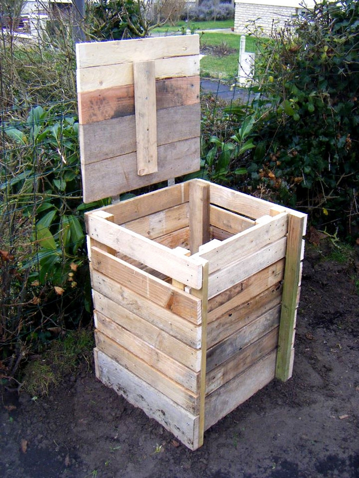 Best ideas about Compost Bin DIY . Save or Pin Build a post bin from repurposed pallets Now.