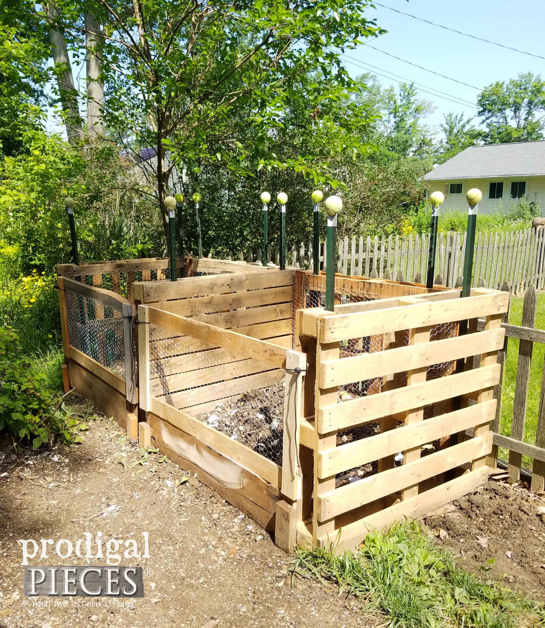 Best ideas about Compost Bin DIY . Save or Pin Pallet post Bin DIY A Must Have Prodigal Pieces Now.
