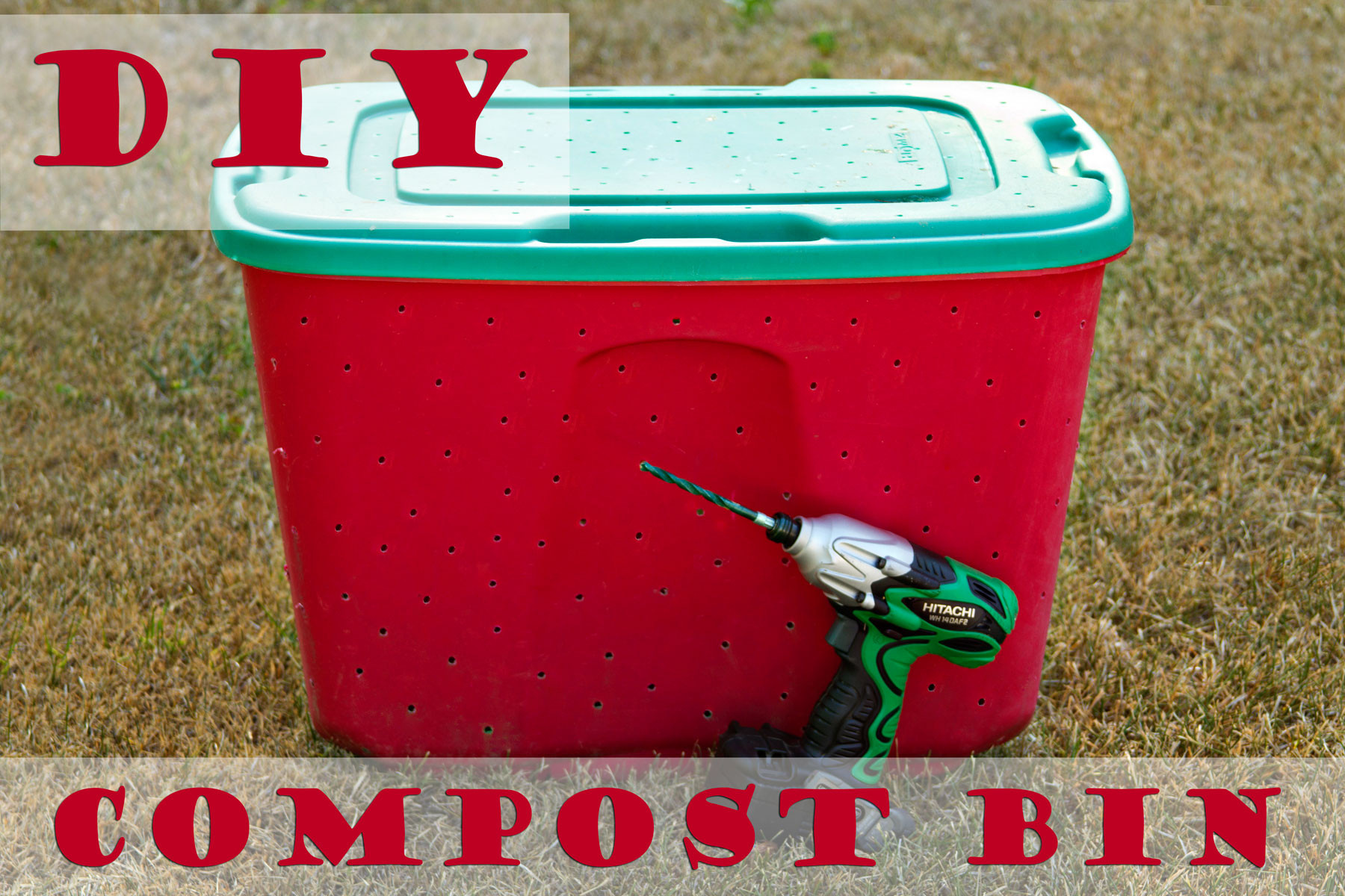 Best ideas about Compost Bin DIY . Save or Pin How To Make an Easy DIY post Bin Now.