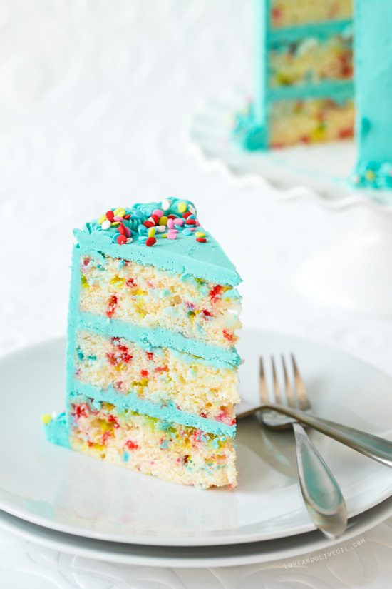 Best ideas about Confetti Birthday Cake . Save or Pin 30 Birthday Dessert Ideas Like Mother Like Daughter Now.