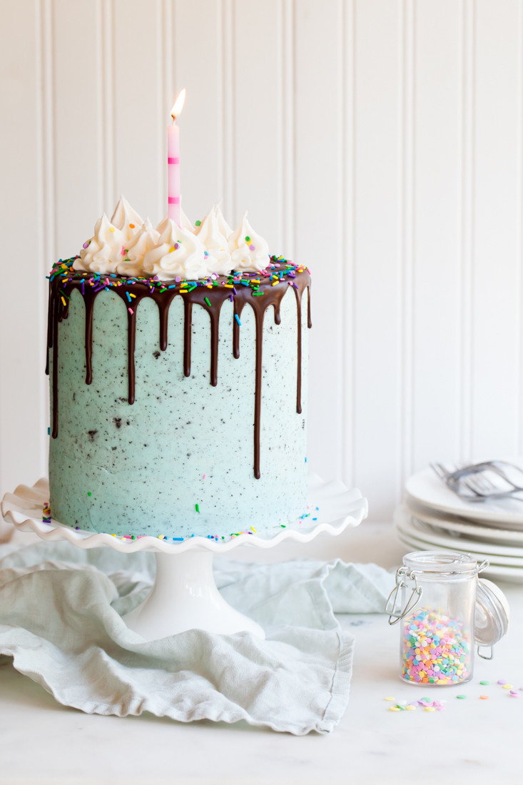 Best ideas about Confetti Birthday Cake . Save or Pin Birthday Oreo Layer Cake — Style Sweet CA Now.