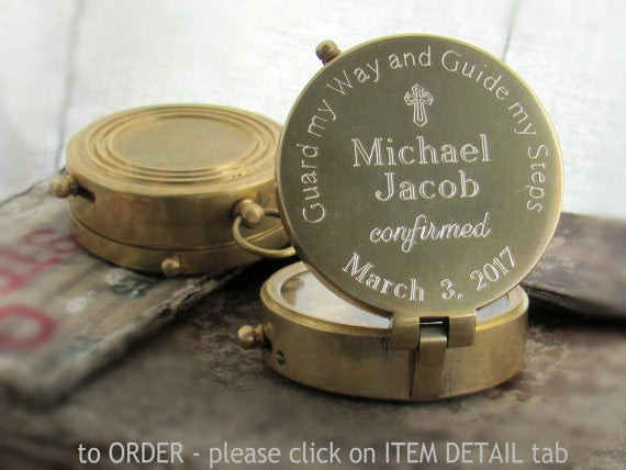 Best ideas about Confirmation Gift Ideas Boys . Save or Pin Engraved pass Confirmation Gift Confirmation Gift Boy Now.