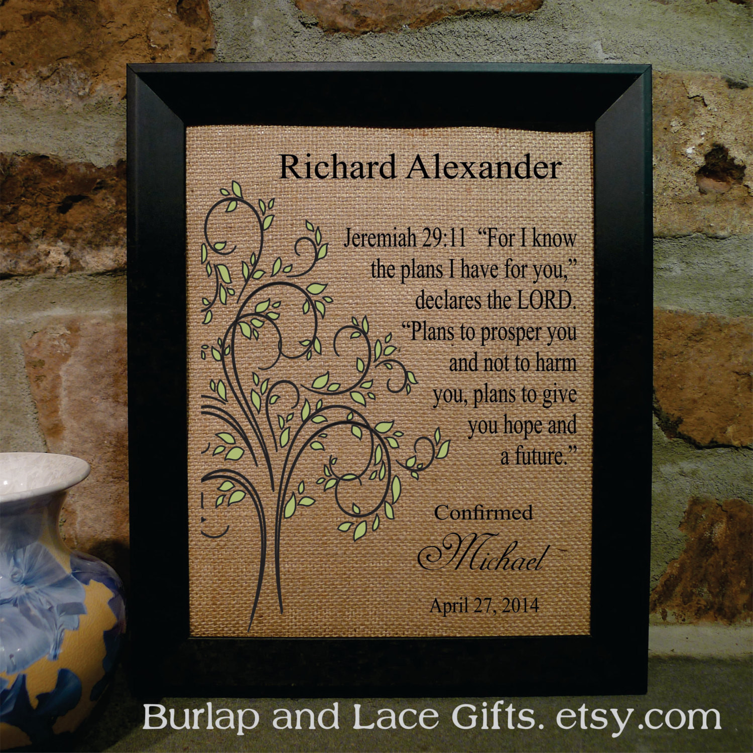 Best ideas about Confirmation Gift Ideas Boys . Save or Pin Boy s Confirmation Gift Religious Framed by BurlapandLaceGifts Now.