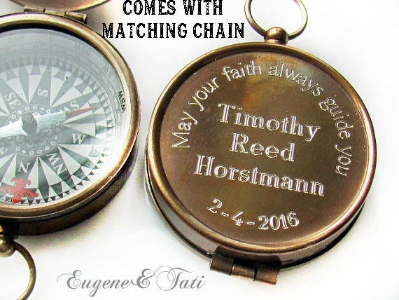 Best ideas about Confirmation Gift Ideas Boys . Save or Pin Baptism Gift Engraved pass Baptism Gift Boy Confirmation Now.