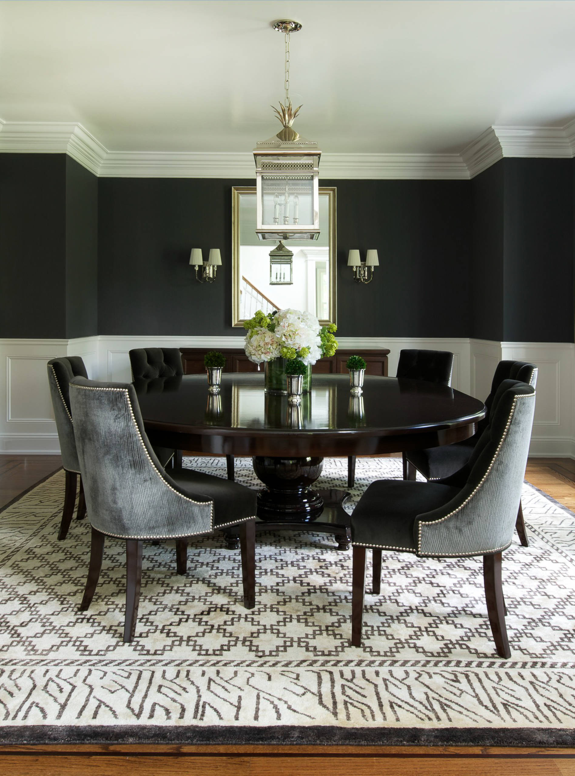 Best ideas about Contemporary Dining Room . Save or Pin Round Dining Table to Decorate Your Home Now.