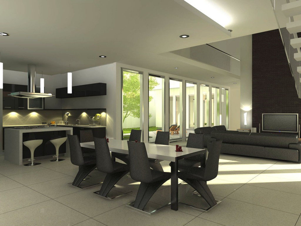 Best ideas about Contemporary Dining Room . Save or Pin Dining Room Ideas Modern Dining Room Now.