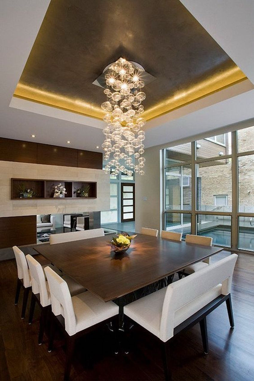 Best ideas about Contemporary Dining Room . Save or Pin 10 Superb Square Dining Table Ideas for a Contemporary Now.