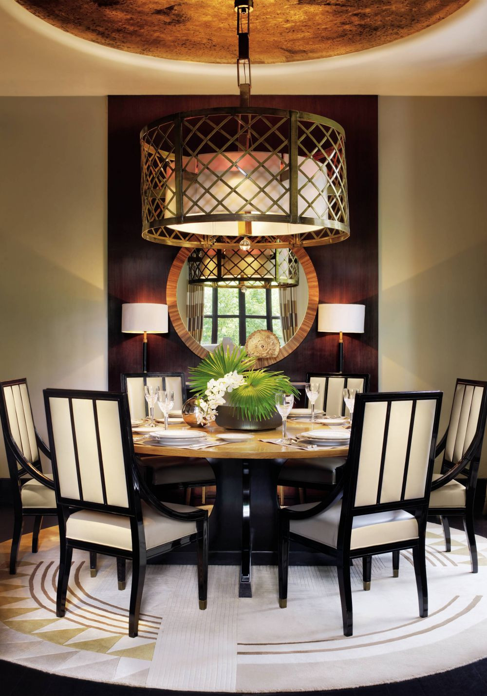 Best ideas about Contemporary Dining Room . Save or Pin Contemporary Dining Room by Jean Louis Deniot by Now.