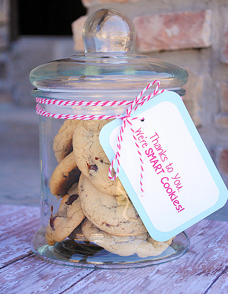 Best ideas about Cookie Gift Ideas . Save or Pin Teacher Appreciation Gift Ideas Smart Cookies Now.