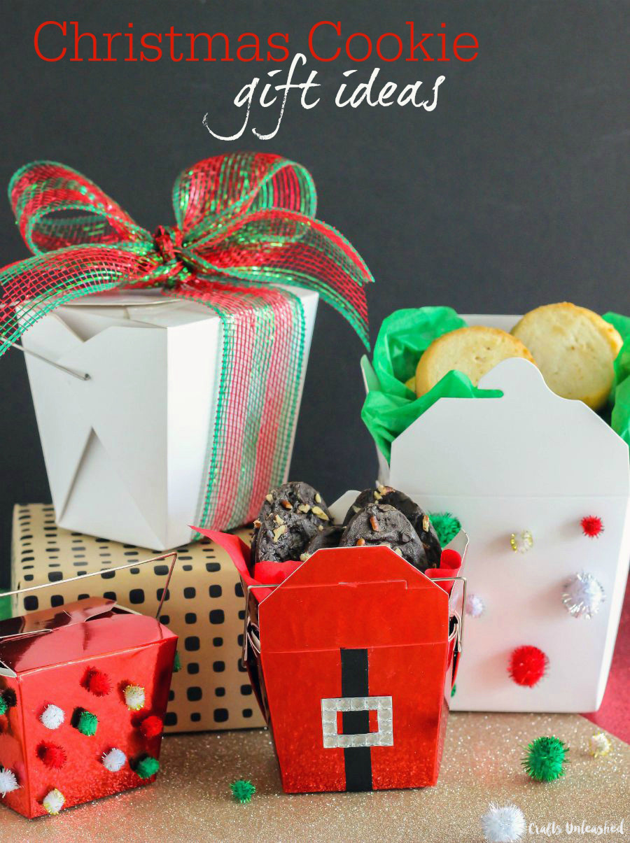 Best ideas about Cookie Gift Ideas . Save or Pin Christmas Cookie Gift Ideas Chinese Food Containers Now.